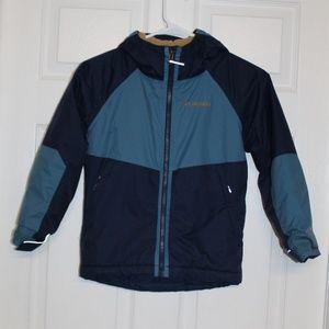Columbia Omni-Tech Waterproof Boy Jacket XS (6-7)